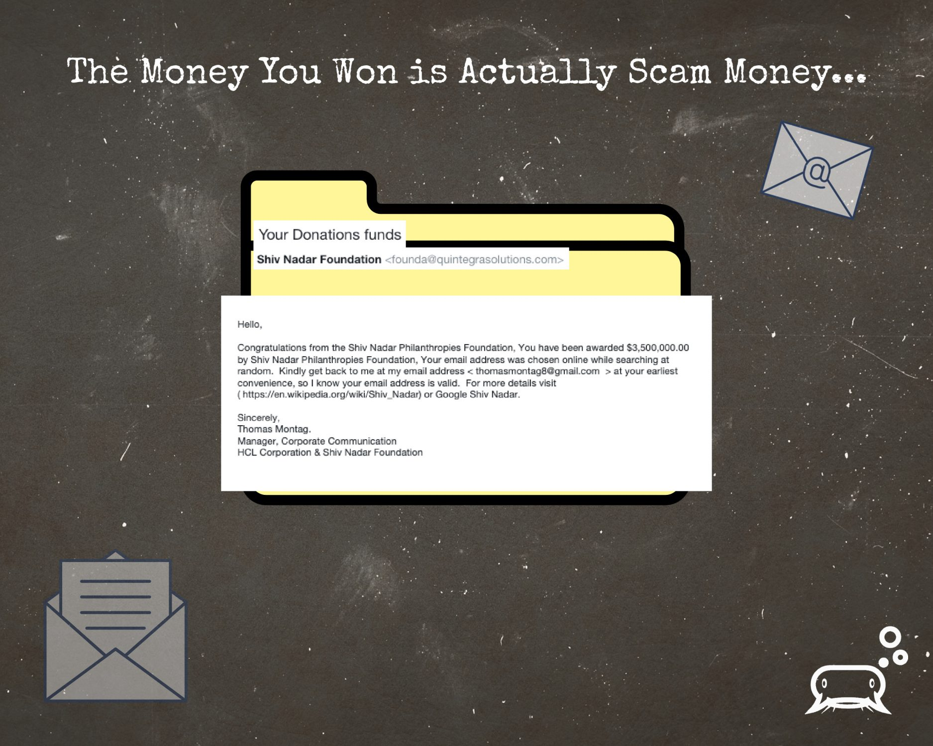 Scam-Money